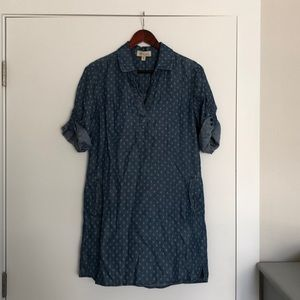 Denim Cloth and Stone dress from Anthropologie